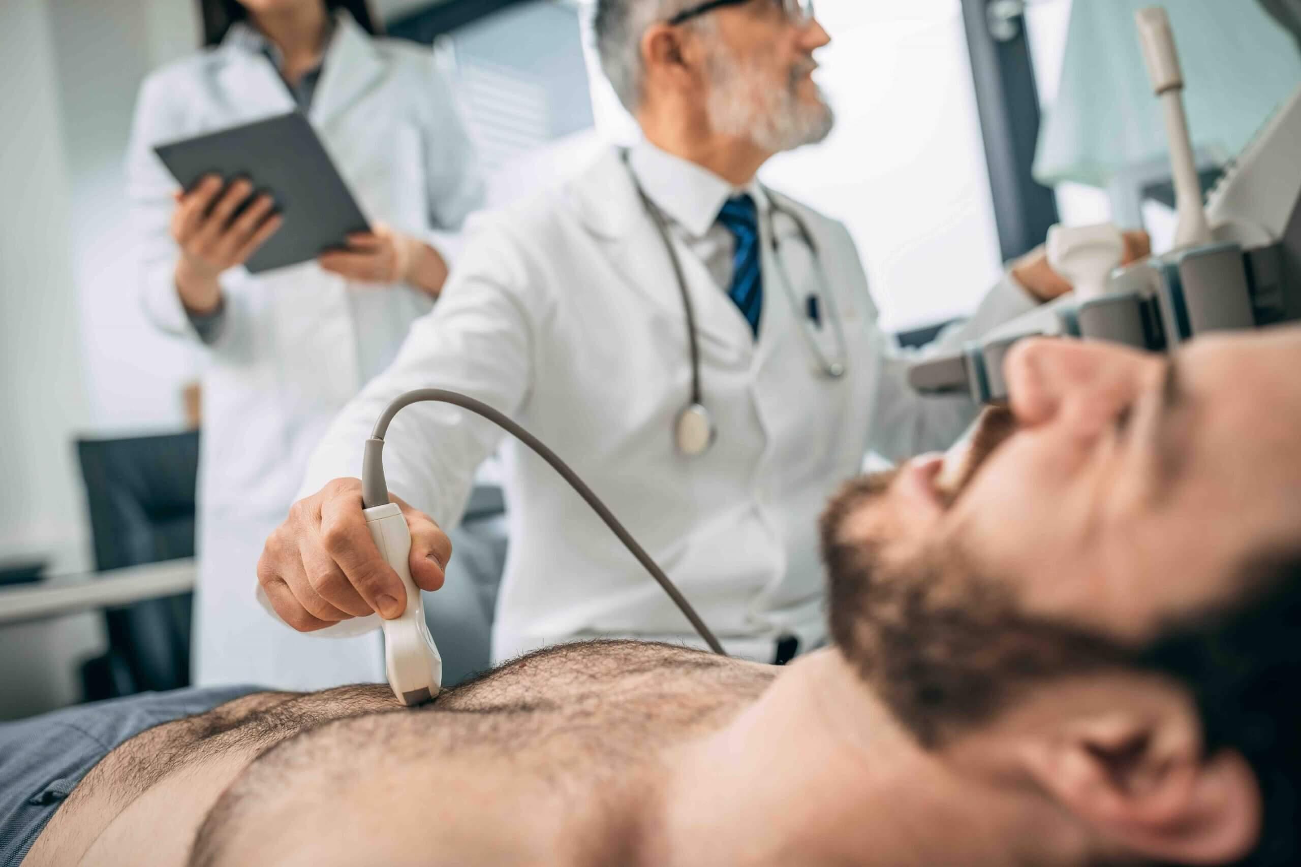 Men Breast Scan